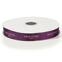 Grosgrain Ribbon - Now available branded!